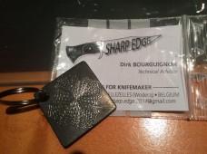 Sharp edge keyholder